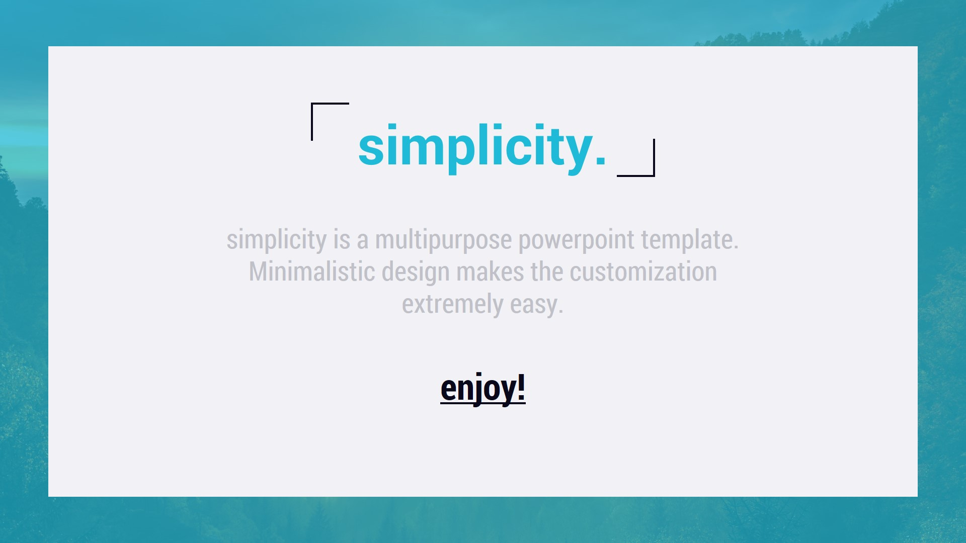Simplicity 20 Premium And Easy To Edit Template By Smartpoint