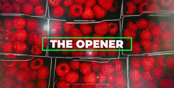 VideoHive The Opener 21235802