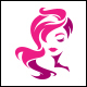 Miss Beauty Logo Template