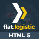 Flat Logistic - SEO, Social Media & Multipurpose HTML5 Template - ThemeForest Item for Sale