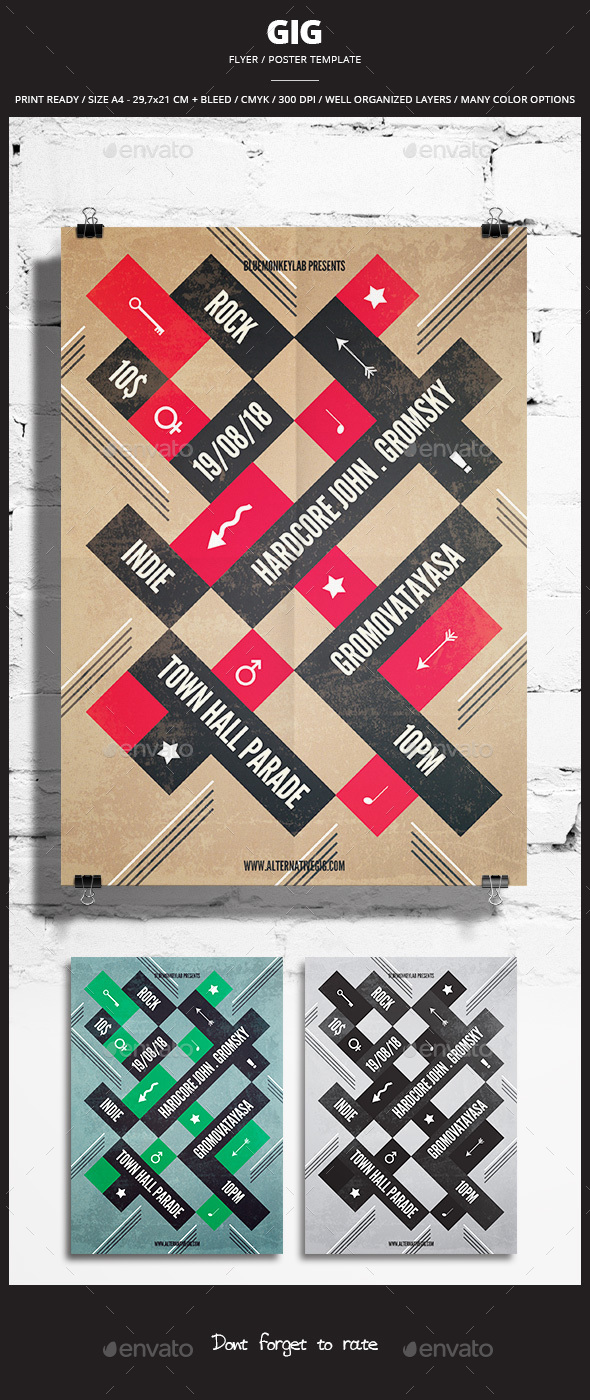 Gig Flyer / Poster 1 - Events Flyers