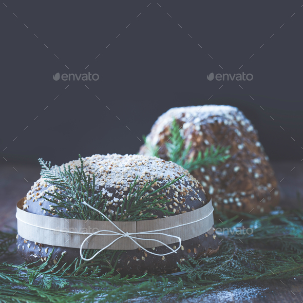 Panettone And Pandoro - Stock Photo - Images