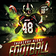 Football Night Flyer - GraphicRiver Item for Sale