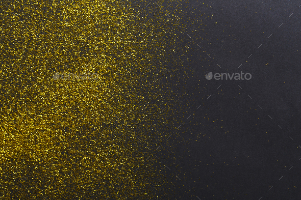 Golden glitter sand texture, abstract background. - Stock Photo - Images