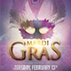 Carnival Mardi Gras flyer - GraphicRiver Item for Sale