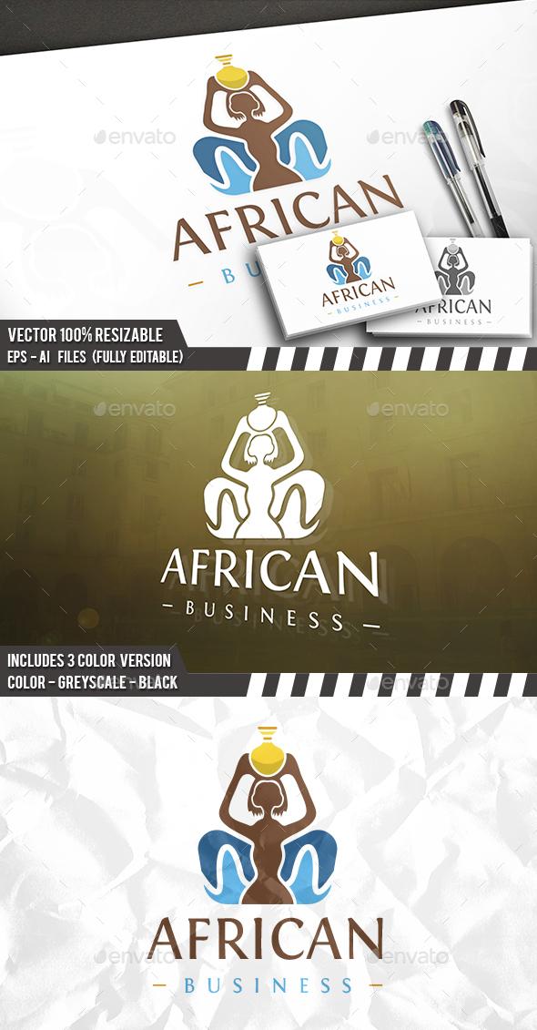 Ethnic Society Logo - Humans Logo Templates