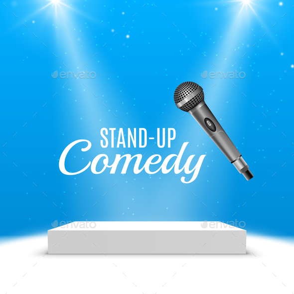 Stand Up Comedy Poster - Miscellaneous Vectors