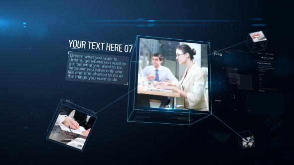 VideoHive Cube Slideshow 21237167