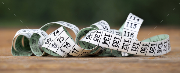 Tape measure with numbers - Stock Photo - Images
