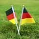 Flag of Germany on the Grass Flags of Germany on a Green Lawn - VideoHive Item for Sale