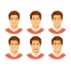 Man Emotions Vector - GraphicRiver Item for Sale
