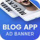 Blog App | HTML 5 Animated Google Banner