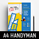 Handyman Poster Template - GraphicRiver Item for Sale