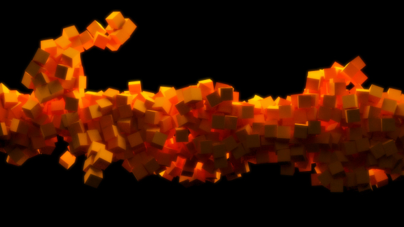 VideoHive Sticky Cubes 21237755