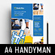 Handyman Poster Template v2 - GraphicRiver Item for Sale