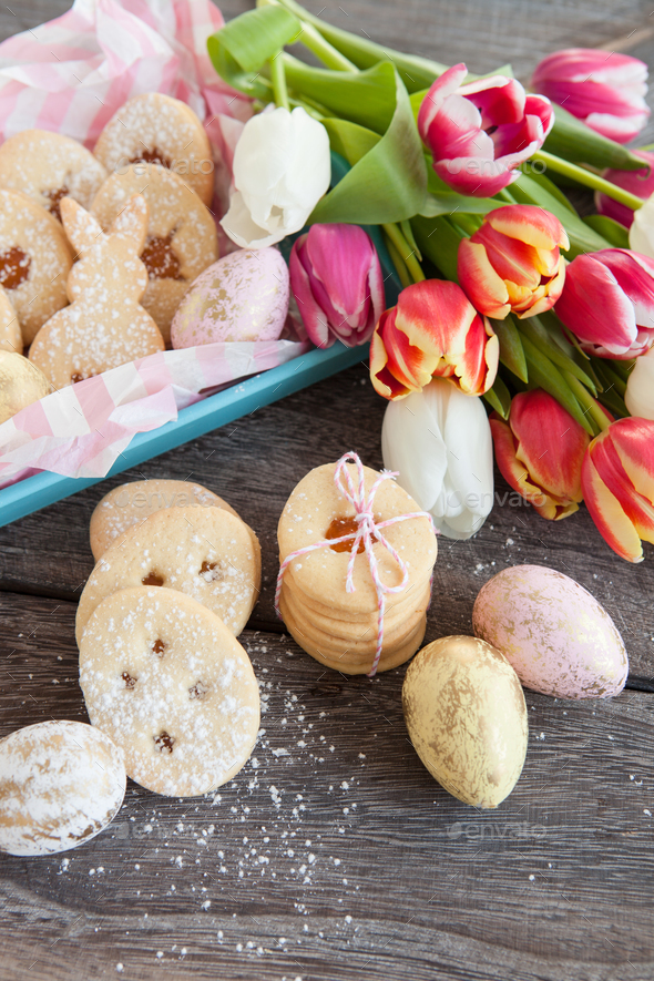 Easter cookies - Stock Photo - Images