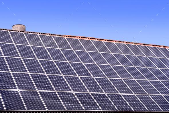 solar panels - Stock Photo - Images