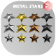 Metal Stars - GraphicRiver Item for Sale