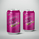 Beverage Can 330ml Mock-Up - GraphicRiver Item for Sale
