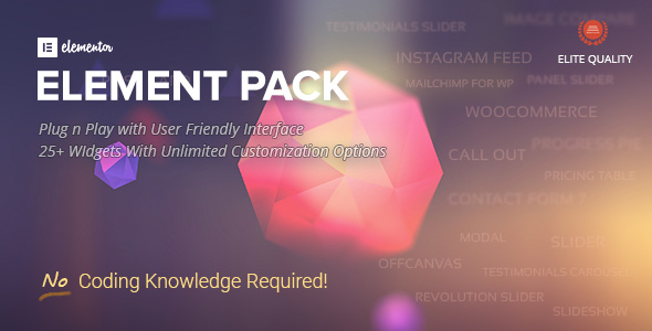 Element Pack - Addon for Elementor Page Builder WordPress Plugin Best Scripts