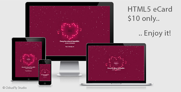 Valentine Card v5 - CodeCanyon Item for Sale