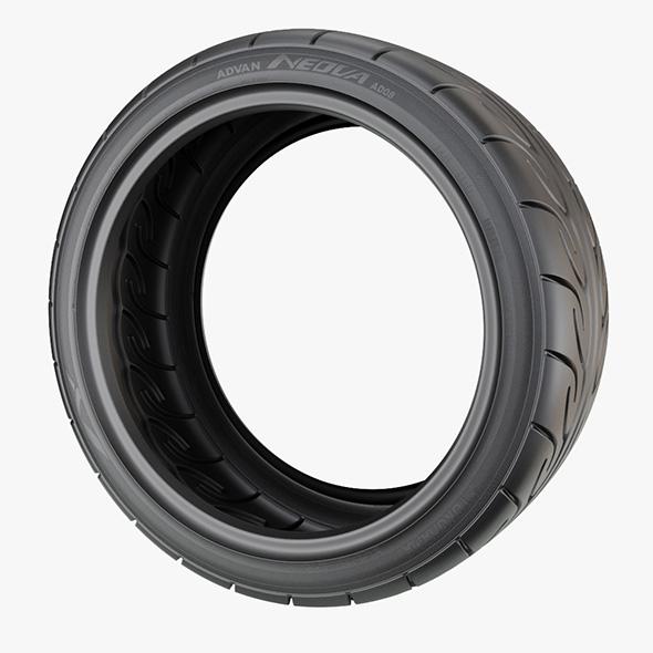 Yokohama Neova Performance Car Tyre - 3DOcean Item for Sale
