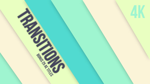VideoHive Transitions Pack Colorful 21238458