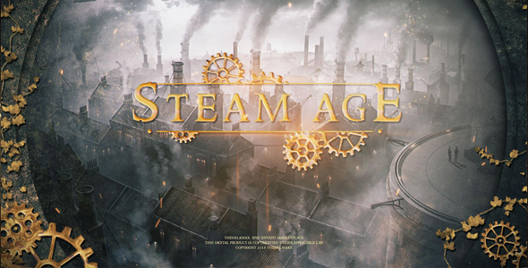 VideoHive Steam Age Trailer 21238466