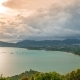 High Angle View Beautiful  Landscape of Ao Chalong Bay and City Sea Side in Phuket Province, Thailan - VideoHive Item for Sale