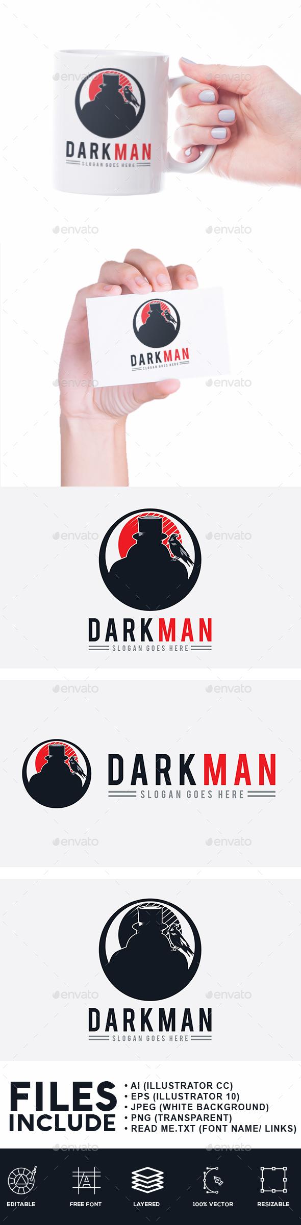 Dark Man Logo