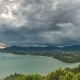 Clouds  Landscape View at Pier at Chalong Bay and Phuket Town in Thailand - VideoHive Item for Sale