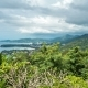Rainy Landscape  From View Point, Karon Beach, Kata Beach, Patong Beach in Phuket Island, Thailand - VideoHive Item for Sale