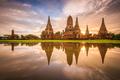 Ayutthaya, Thailand at Wat Chaiwatthanaram - PhotoDune Item for Sale