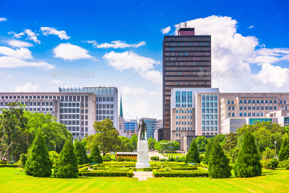 Baton Rouge, Louisiana, USA - Stock Photo - Images