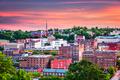 Lynchburg, Virginia Town Skyline - PhotoDune Item for Sale