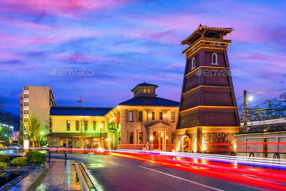 Kofu, Japan Cityscape - Stock Photo - Images