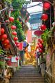 Jiufen, Taiwan Alleyway - PhotoDune Item for Sale