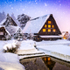 Shirakawago Village in Winter - PhotoDune Item for Sale