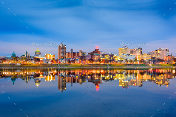 Harrisburg, Pennsylvania, USA - Stock Photo - Images