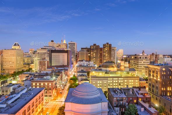 Baltimore, Maryland Cityscape - Stock Photo - Images