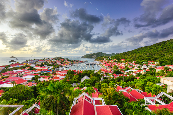 Gustavia, St. Bart's - Stock Photo - Images