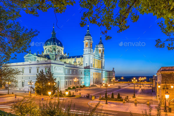 Madrid, Spain Cathedral - Stock Photo - Images