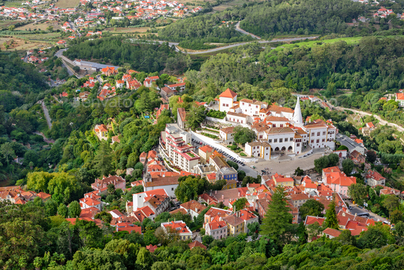 Sintra, Portugal Old Town - Stock Photo - Images