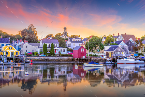 Portsmouth, New Hampshire, USA - Stock Photo - Images