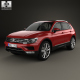 Volkswagen Tiguan 2015 - 3DOcean Item for Sale