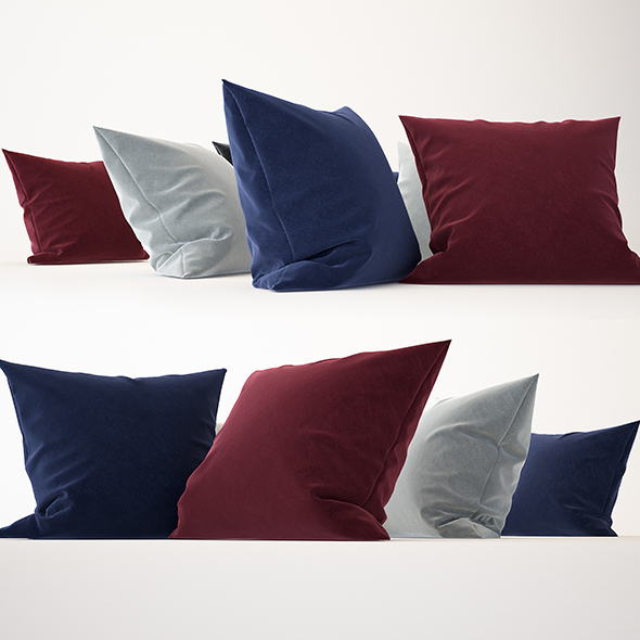 Pillows Collection 01 - 3DOcean Item for Sale