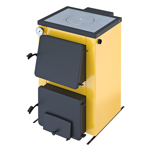 Stove yellow 2 options - 3DOcean Item for Sale