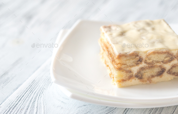 Tiramisu  - Stock Photo - Images