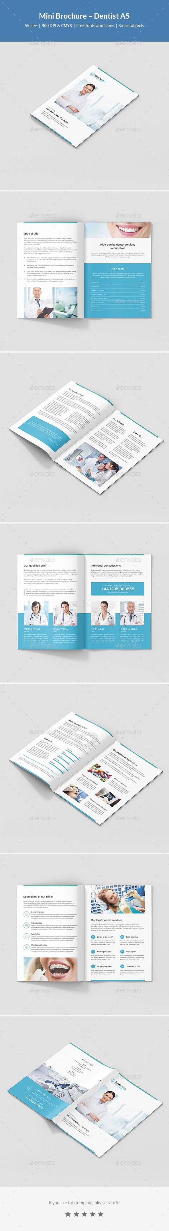 Mini Brochure – Dentist A5 - Corporate Brochures