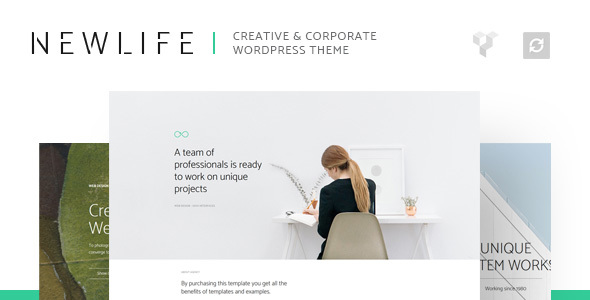Newlife - Creative & Corporate WordPress Theme - Corporate WordPress